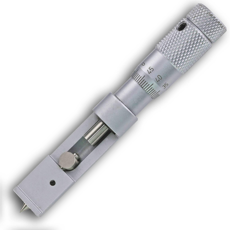 Bügelmessschraube 0-10mm zur Messung von Konservendosen.