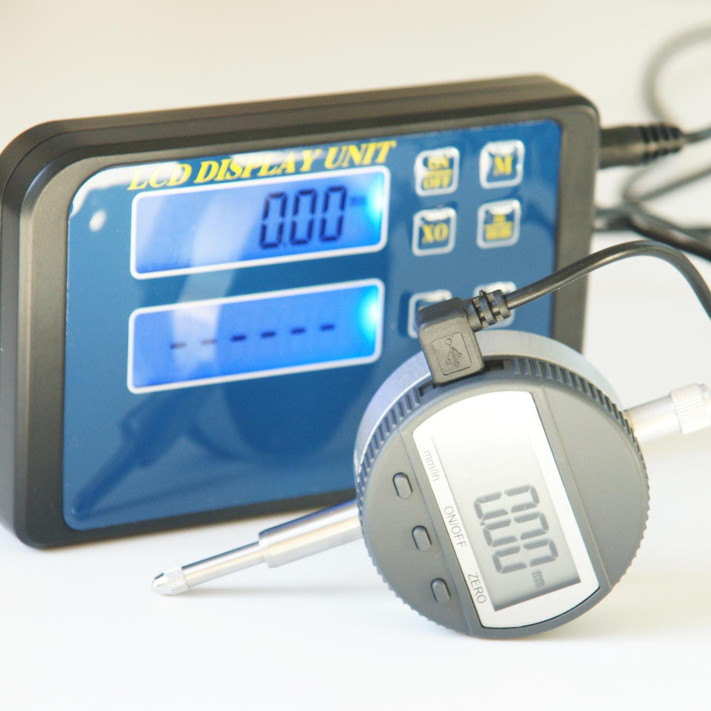 Mess-Set digital aus Messuhr und externer Anzeige kaufen.