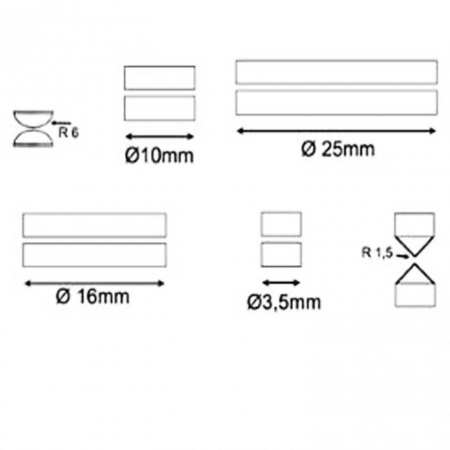Gewindegutlehrring Gewinde Gutlehrring DIN ISO 1502 M45 x 1,5 6g,Lehrring